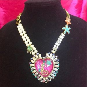 Betsy Johnson Jewel of the Sea Necklace